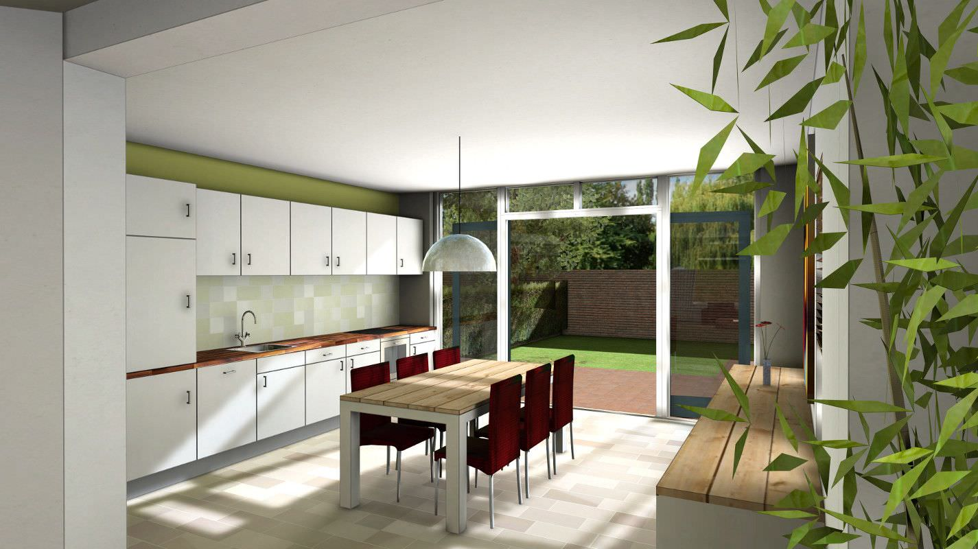 Keuken Aan Tuin : Keuken verbouw bekijk project